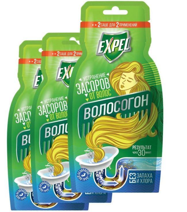 Expel Bio Устранение засоров от волос
