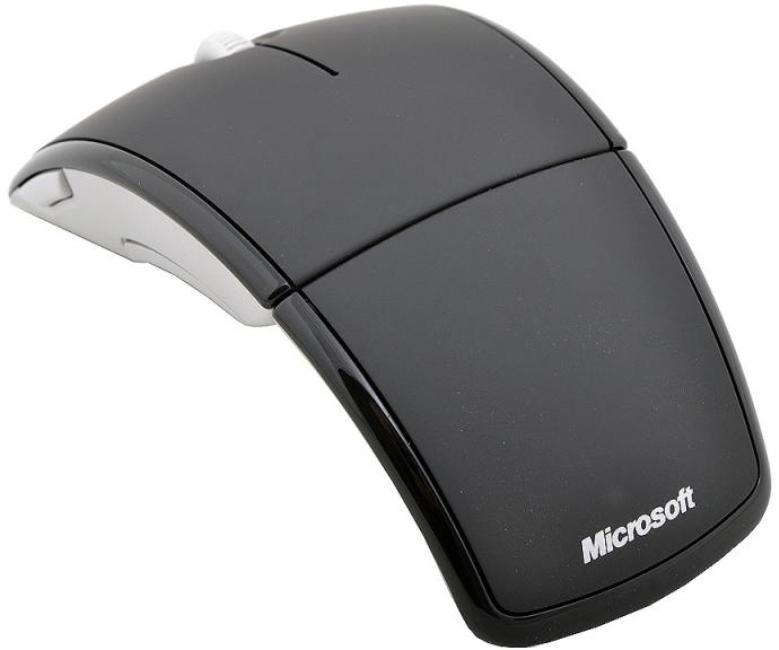 Microsoft Arc mouse Black USB фото
