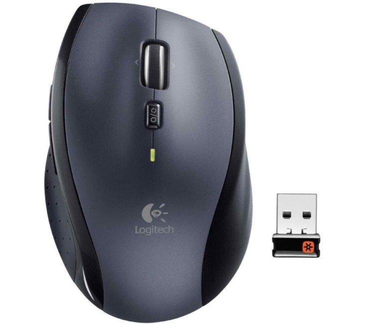 Logitech Marathon Mouse M705 Black USB фото