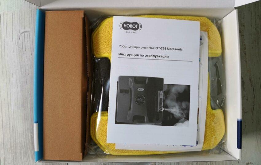 HOBOT 298 Ultrasonic упаковка