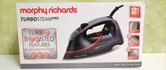 Morphy Richards Turbosteam Pro Electronic 303125 фото