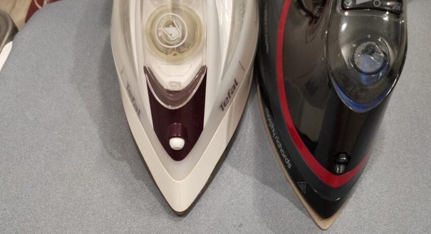 Сравнение носиков у утюгов Morphy Richards Turbosteam Pro Electronic 303125