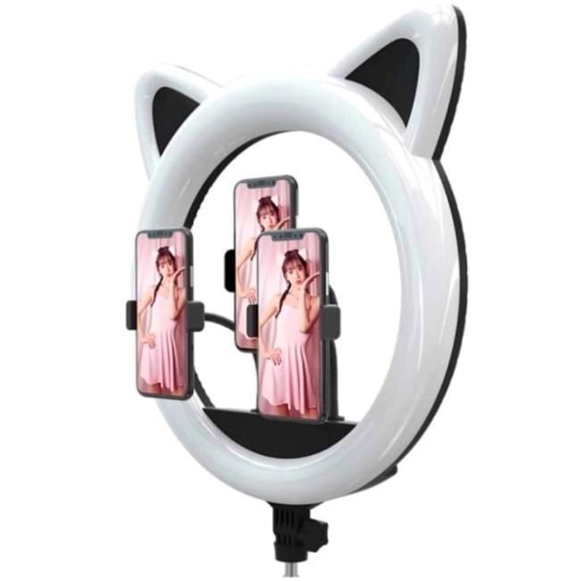 Лучшая кольцевая лампа для телефона Okira Led Ring 408