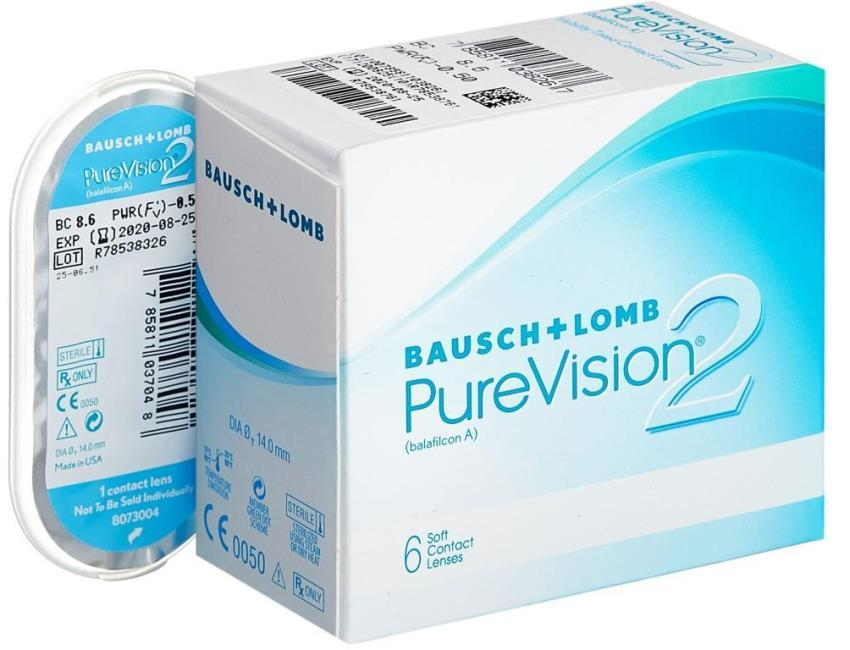 Bausch & Lomb PureVision 2 HD фото