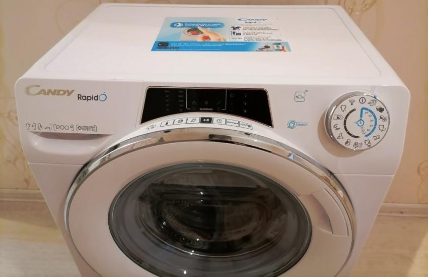 Управление стиральной машиной Candy RO4 1276DWMC4 07