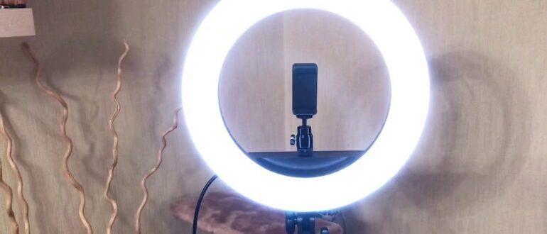 Как выбрать правильно кольцевую лампу