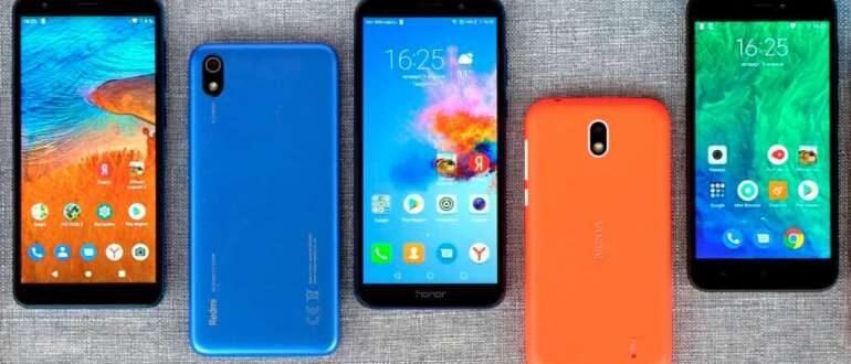 Самые хорошие смартфоны до 5 000 рублей