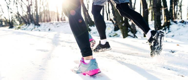 Выбираем самые хорошие кроссовки для бега зимой