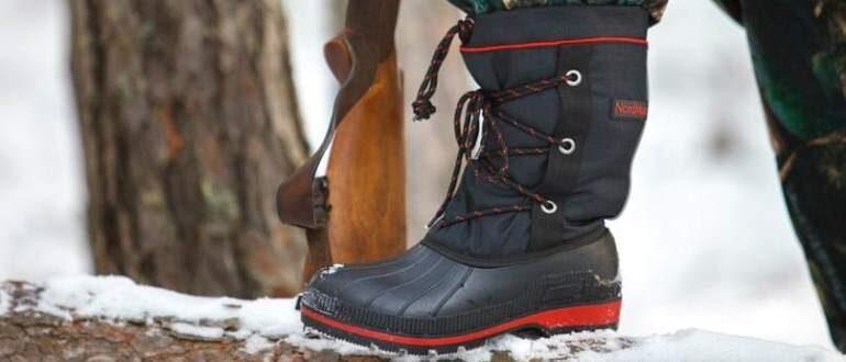 Как правильно выбрать хорошую обувь для рыбалки и охоты зимой