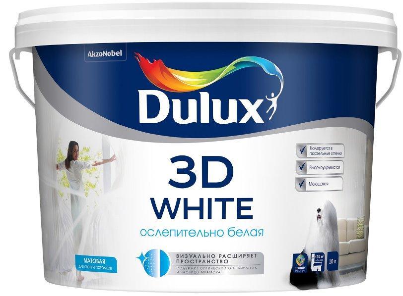 Dulux 3D White фото