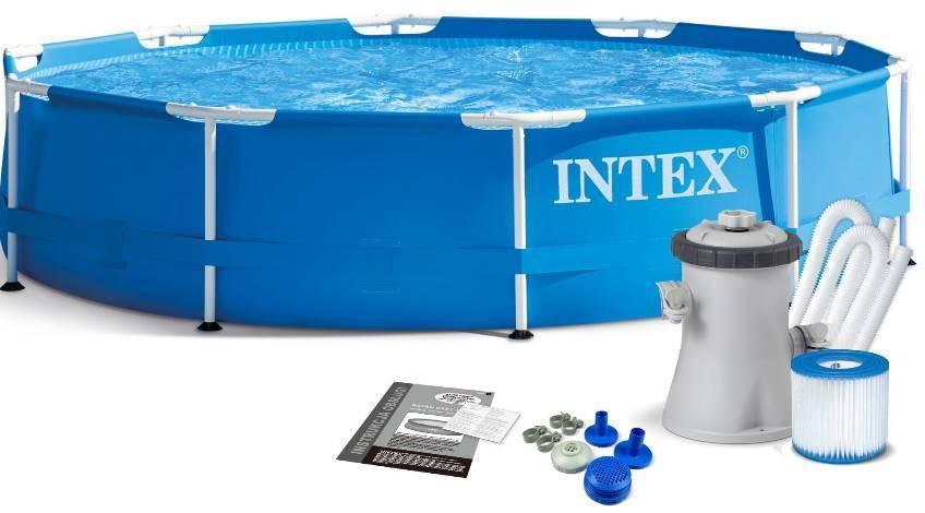 INTEX Metal Frame Pool фото