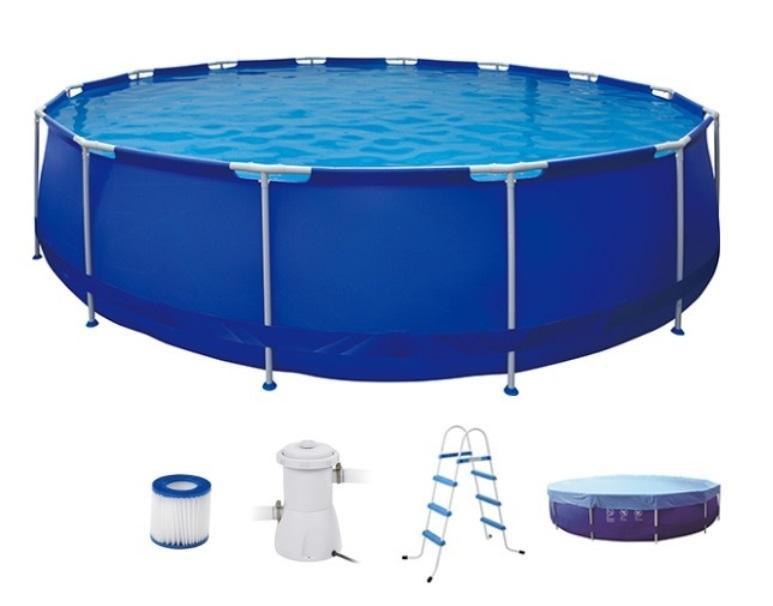 Jilong Round Steel Frame Pools фото