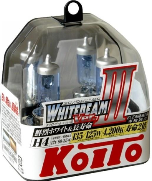 Koito WhiteBeam III H4 фото