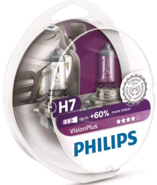 PHILIPS H7 Vision Plus +60% фото