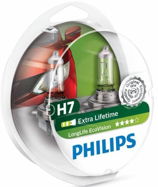 Philips H7 LongLife EcoVision фото