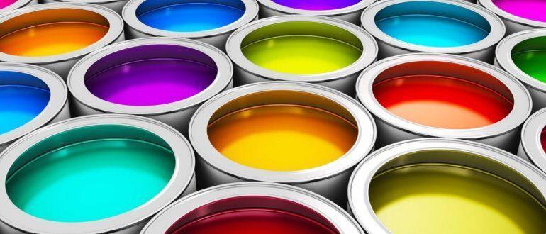 Выбираем латексную краску