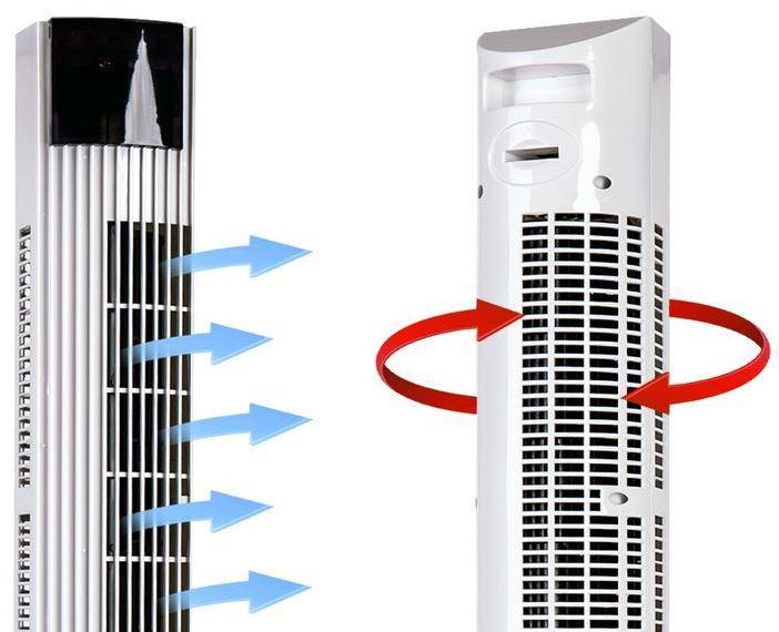 Как выбрать хороший колонный вентилятор