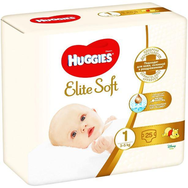 Huggies Elite Soft 1 фото