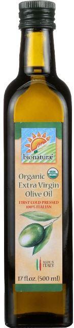 BIONATURAE ORGANIC EXTRA VERGINE OLIVE OIL фото