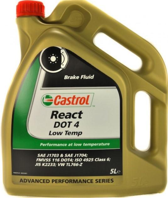 Castrol React DOT 4 Low Temp фото