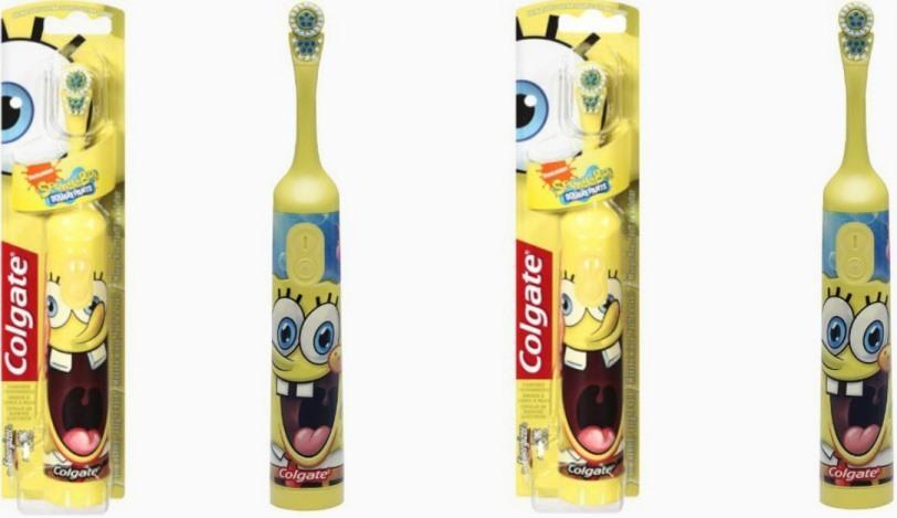 Colgate SpongeBob фото
