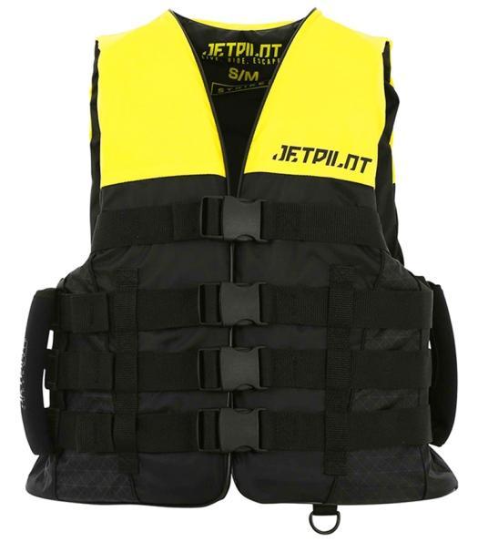 Jetpilot Strike Nylon Vest W. Super Grip Yellow фото