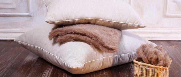 Обзор самых хороших наполнителей для подушек