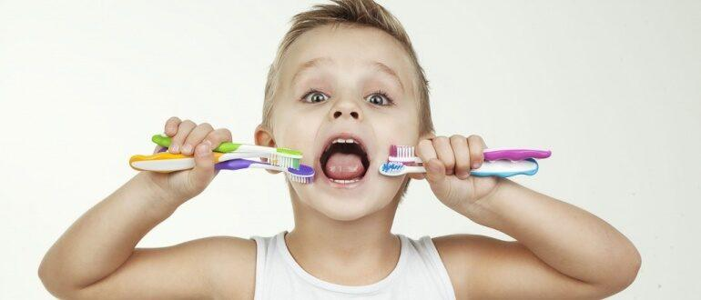 обзор самых хороших зубных щеток для ребенка