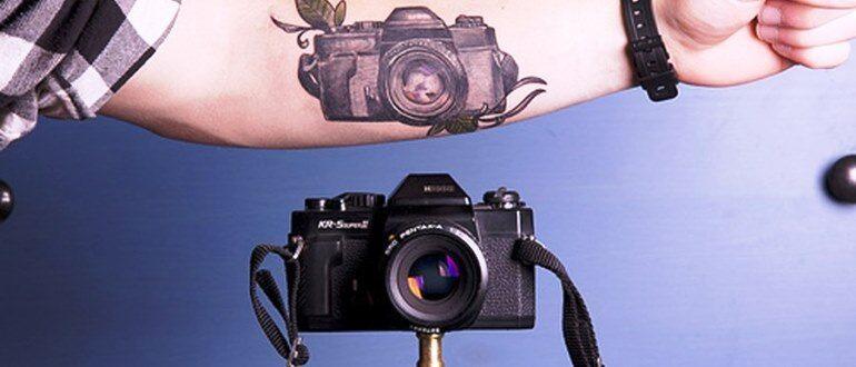 ТОП-10 фотоаппаратов для тату мастеров