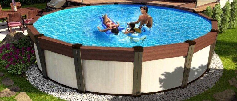 Выбираем самый хороший каркасный бассейн для дачи и частного дома