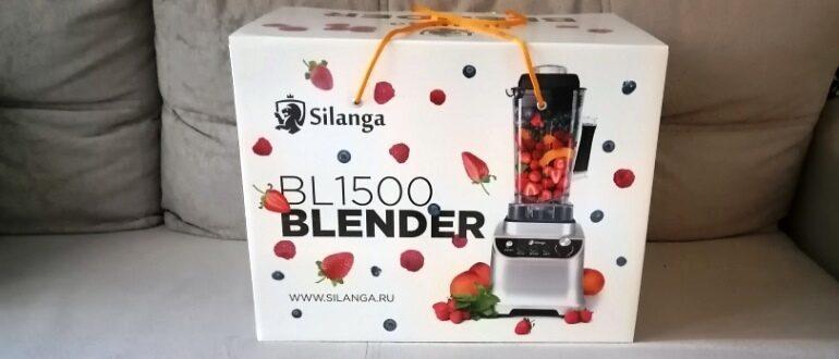 Блендер Silanga BL1500 PRO полный обзор