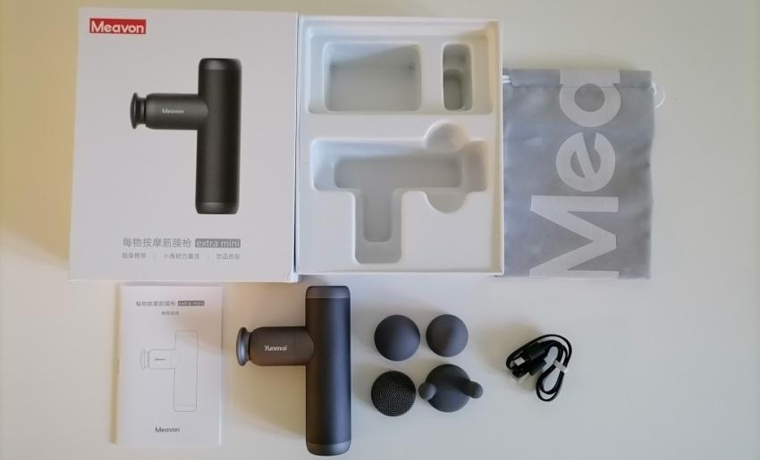 Комплектация Xiaomi Yunmai Extra Mini