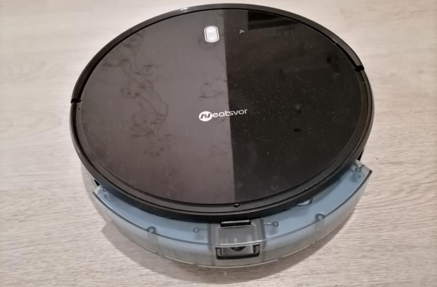 Как снять пылесборник с Neatsvor X520