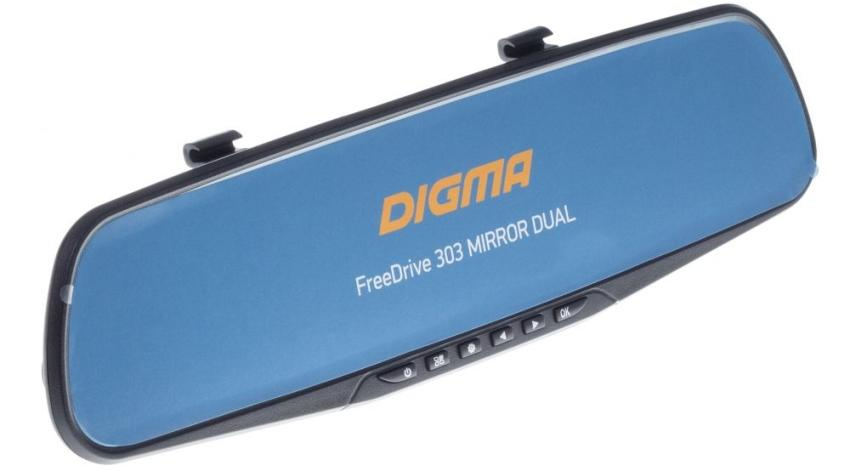 Digma FreeDrive 303 MIRROR DUAL фото