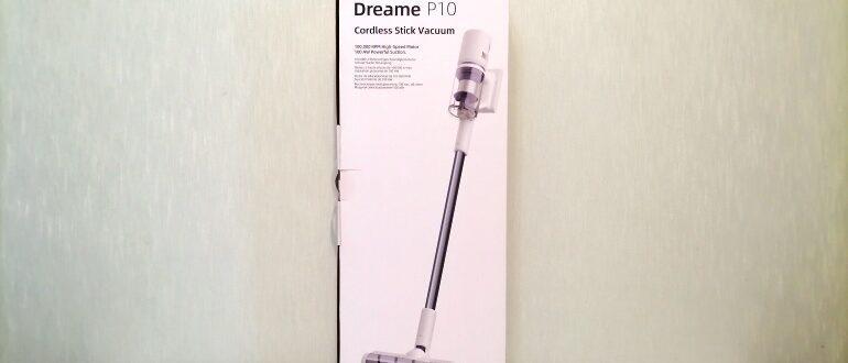 Dreame P10 обзор пылесоса
