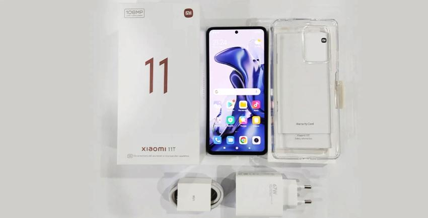 Xiaomi 11 T комплект поставки