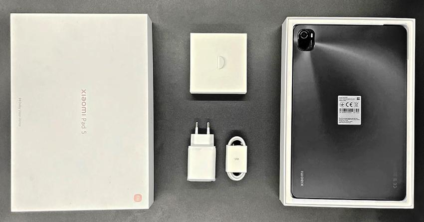 Комплект поставки Xiaomi Pad 5