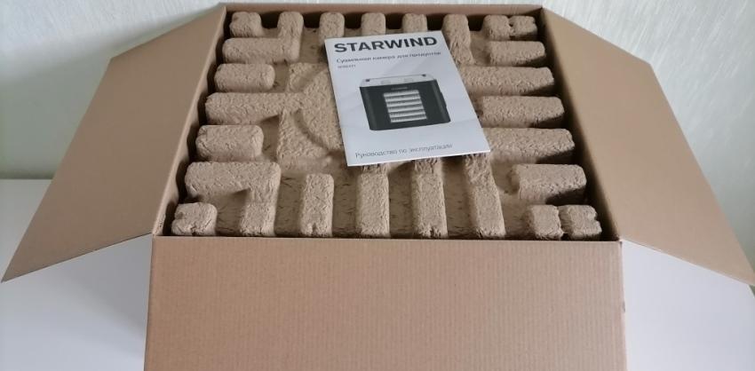 Внутри коробки STARWIND SFD6431